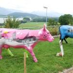 Schweizer Kühe sind nicht lila